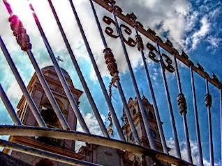 Catholic church, shape