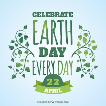 Celabrate earth day