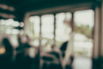 Chairs near a window