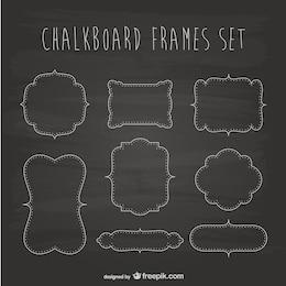 Chalkboard frames set