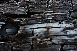 charred wood texture  scorched