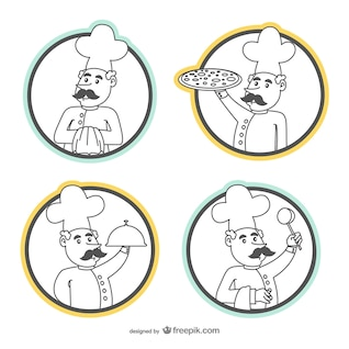 Chef drawings pack