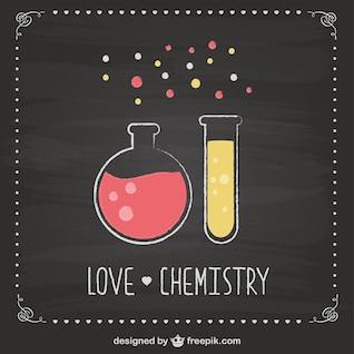 Chemistry blackboard free design