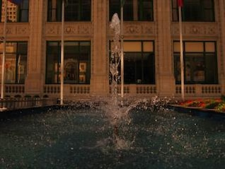 chicago fountain  water
