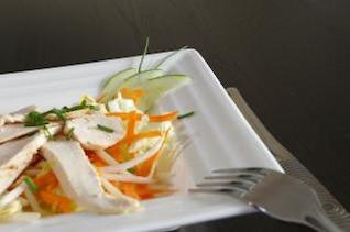Chicken salad, meat