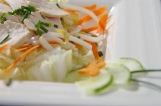 Chicken salad, summer