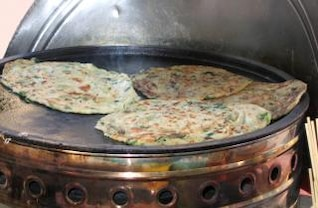 Chinese Onion Pancakes