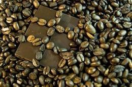 Chocolate and coffee , aroma
