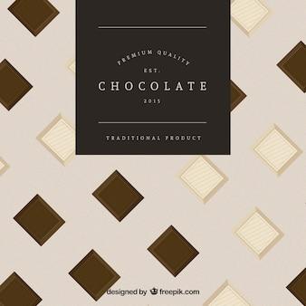 Chocolate premium quality badge