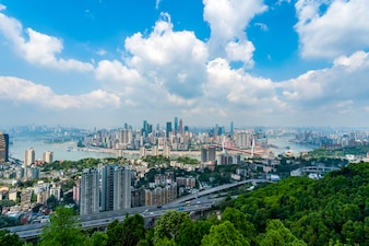 Chongqing city and skyline
