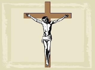 christianity religious holy jesus cross vector