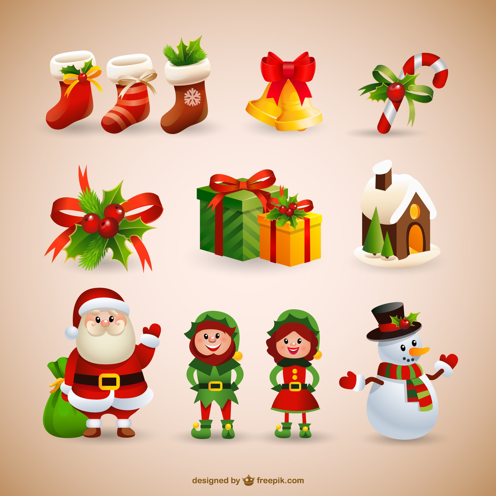 Christmas Ornaments Wooden