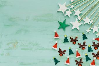 星付きクリスマスコンセプト