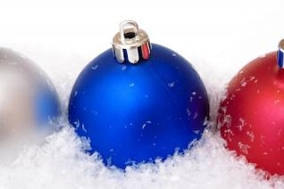 christmas decoration  balls  merry