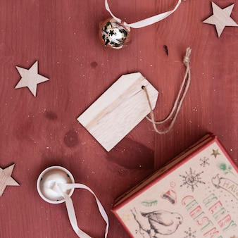 Christmas decoration with tag
