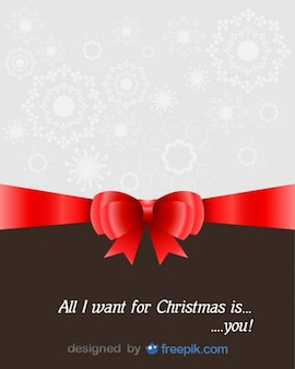 Christmas Greeting Card with a dedication