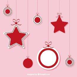 Christmas hanging ornaments