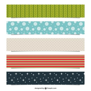 Christmas patterns pack