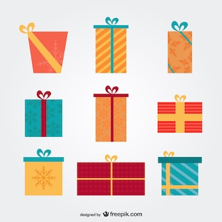 Christmas presents pack