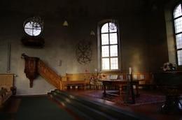 Church interior, sacred
