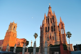 churches mexico church de san miguel allende
