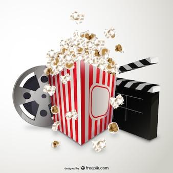 Cinema and popcorn