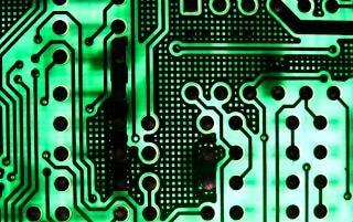 Circuit Board, green