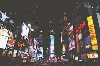 City screens