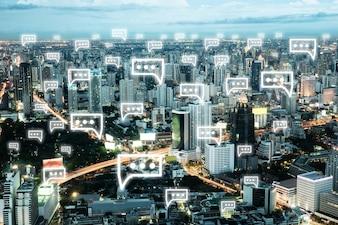 Cityscape icon symbol web element