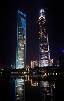 Cityscape tourism high blue building