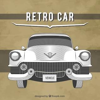 Classic Cadillac drawing