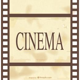 Classic cinema celluloid vector