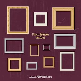 Classic frames vectors