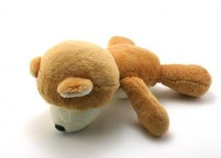 Classic teddy bear, yellow