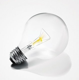 Clean Electric Light Bulb