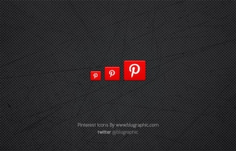 Clean Pinterest Icons