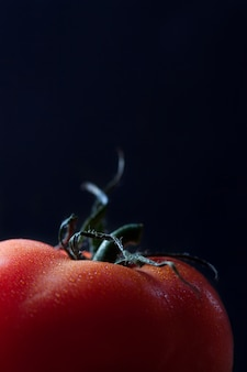 Close-up of fresh tomato