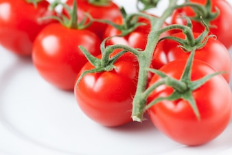 Close-up of ripe tomatoes