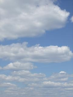 Clouds, white, background
