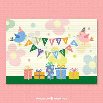 CMYK Birthday party vector