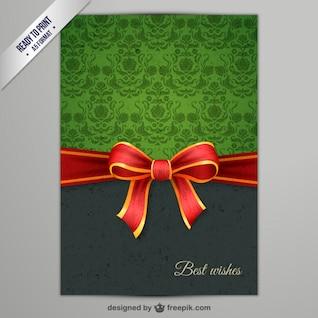 CMYK Elegant Christmas card