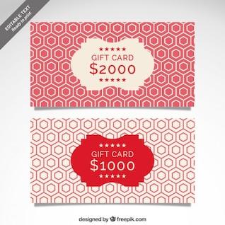 CMYK Gift Card template