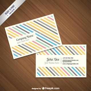 CMYK Grunge business card template