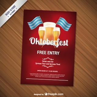 CMYK Oktoberfest flyer