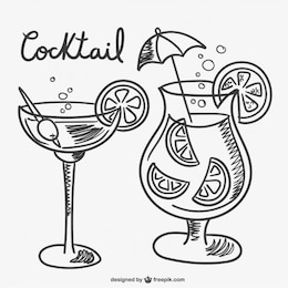 Cocktail drawings