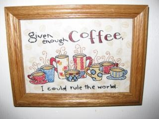 Coffee Cross-stitch