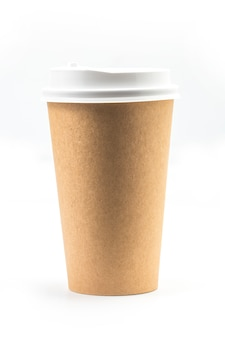 Coffee cups, kraft cups, disposable cups
