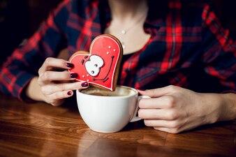 コーヒードリンクはショートレストランを愛する