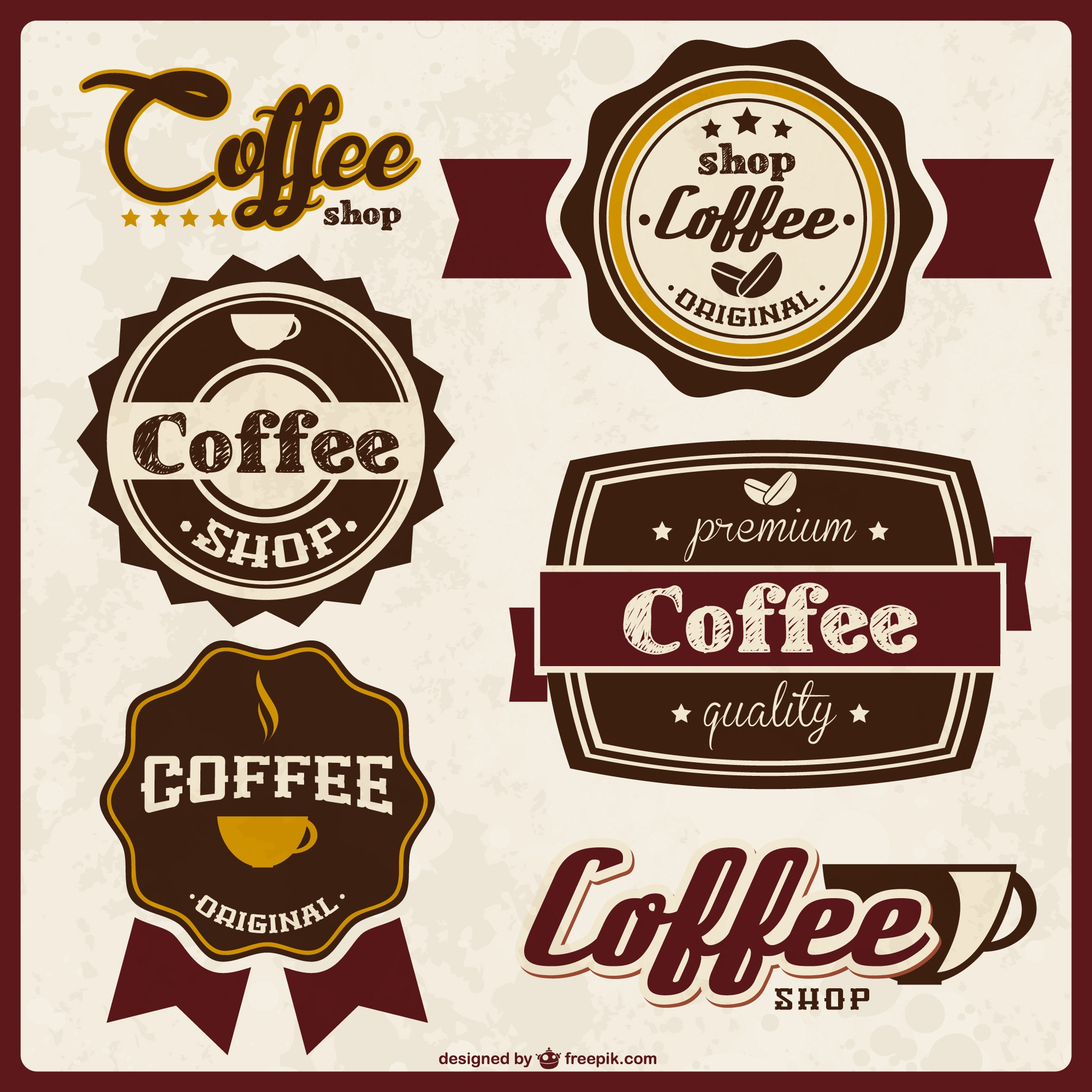 Coffee quality badges