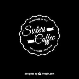 Coffee vector editable logo